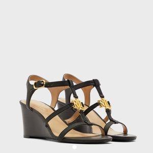 NWT RALPH LAUREN Wedge Sandals